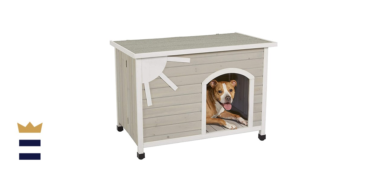 MidWest Homes for Pets Eillo Folding Outdoor Wood Dog House
