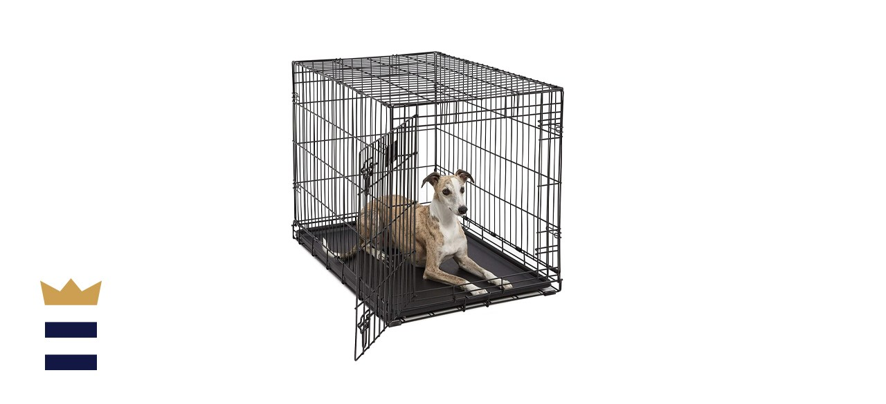 Midwest Homes for Pets Life Stages Folding Metal Crate