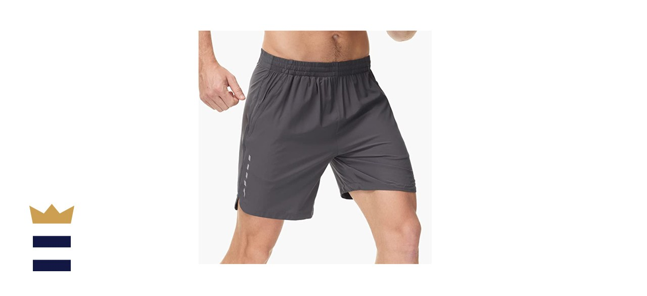 MIER Men's Quick Dry Workout Running Shorts