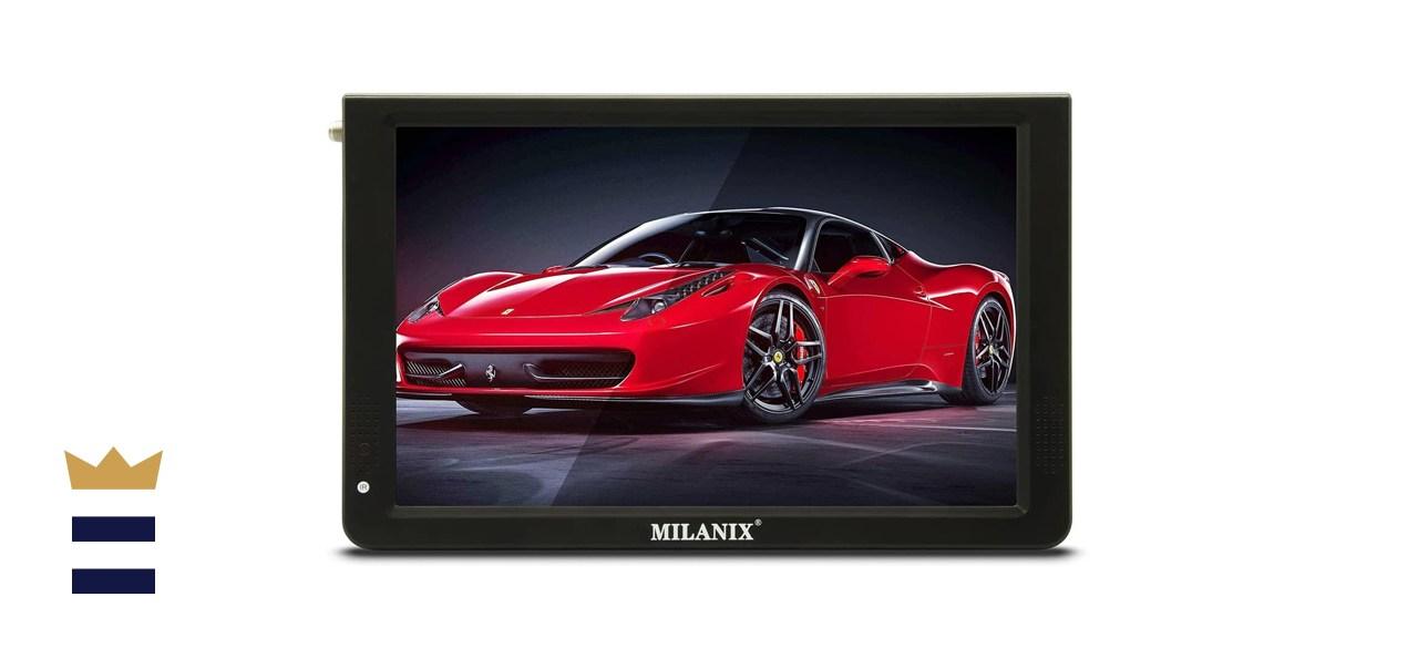 Milanix Portable Widescreen LED TV