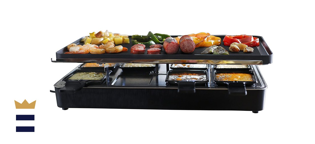 Milliard 8-Person Raclette Grill