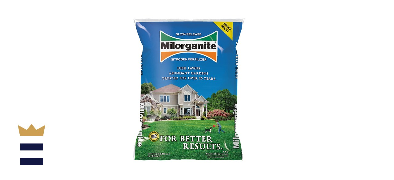 Milorganite Slow-Release Nitrogen Fertilizer