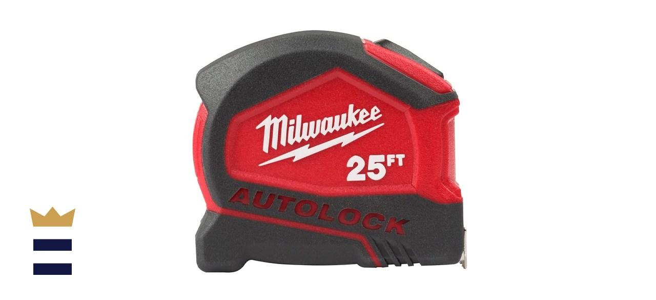 Milwaukee 25-Foot Compact Auto-Lock Tape Measure