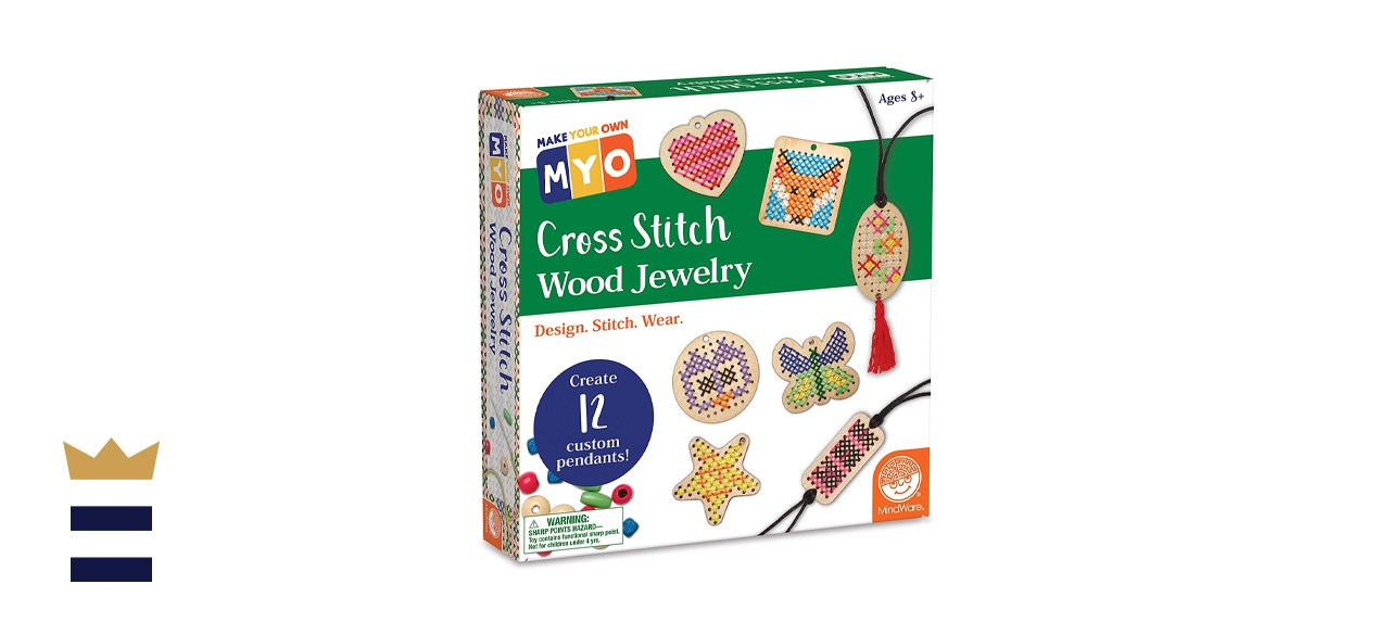 MindWare Make Your Own Cross Stitch