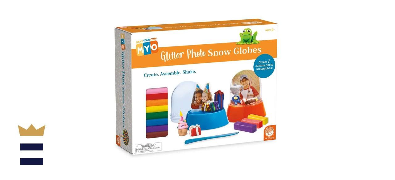 MindWare Make Your Own Glitter Photo Snow Globe