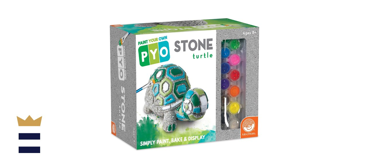 MindWare Paint Your Own Stepping Stone Box Turtle