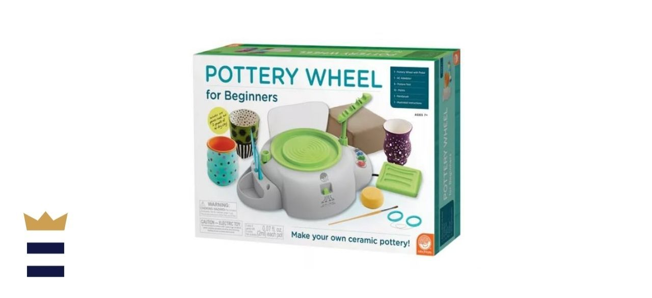 MindWare's Pottery Wheel for Beginners