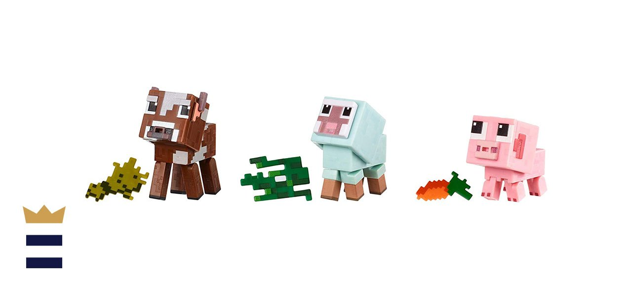 Minecraft Comic Mode Baby Animals 3-Pack