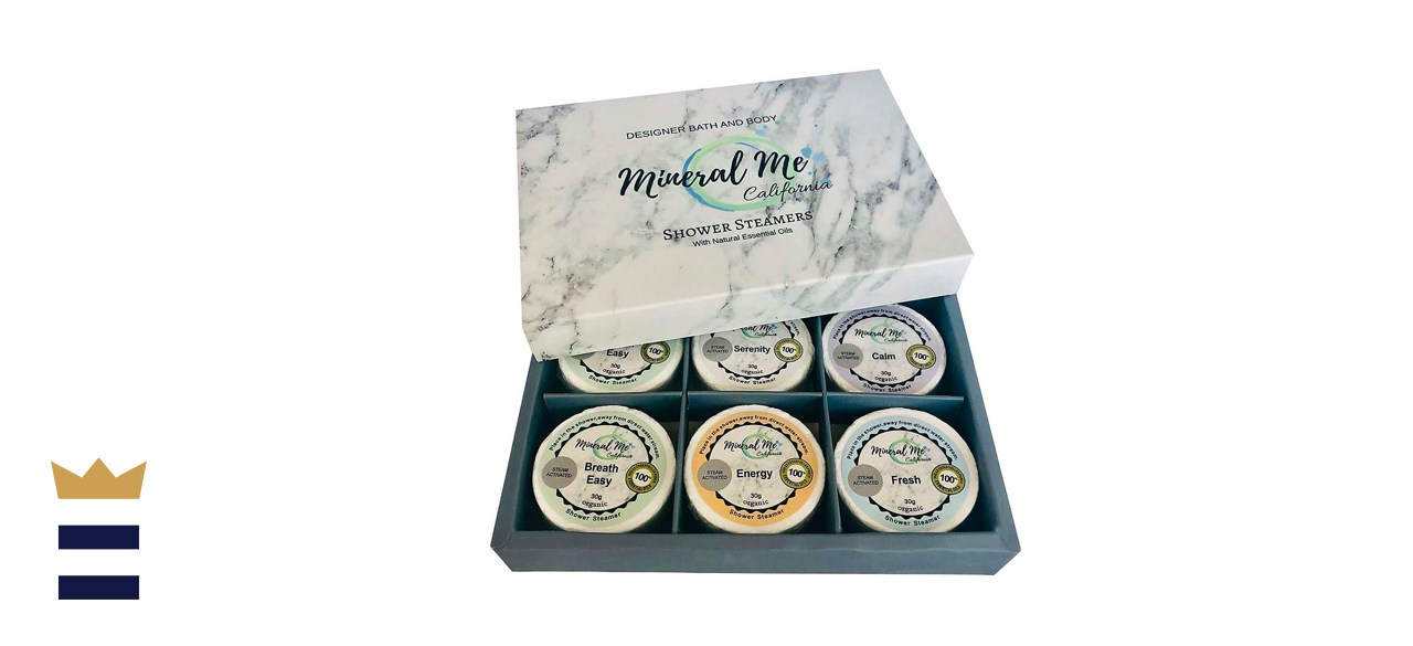 Mineral Me California Shower Bombs with Organic Essential Oils