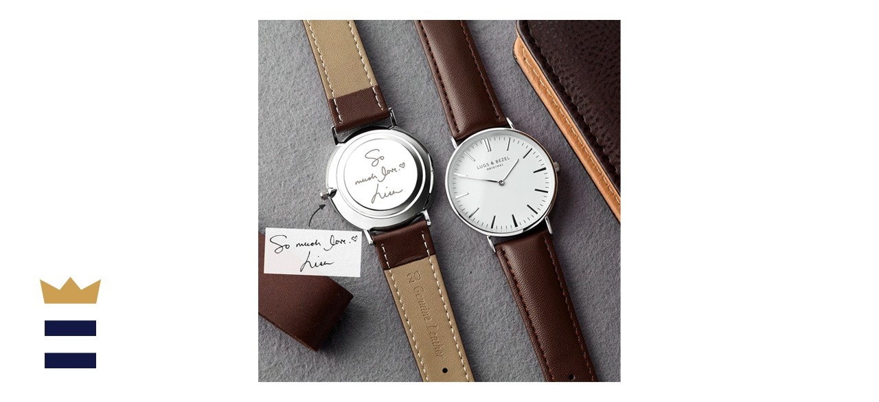 Minutestry Engraved Lugs & Bezel Watch