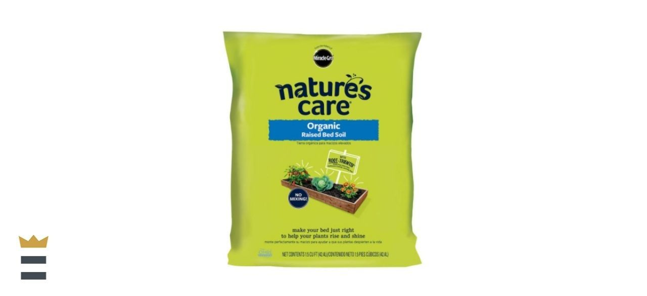 Miracle-Gro Nature's Care Raised Bed Soil