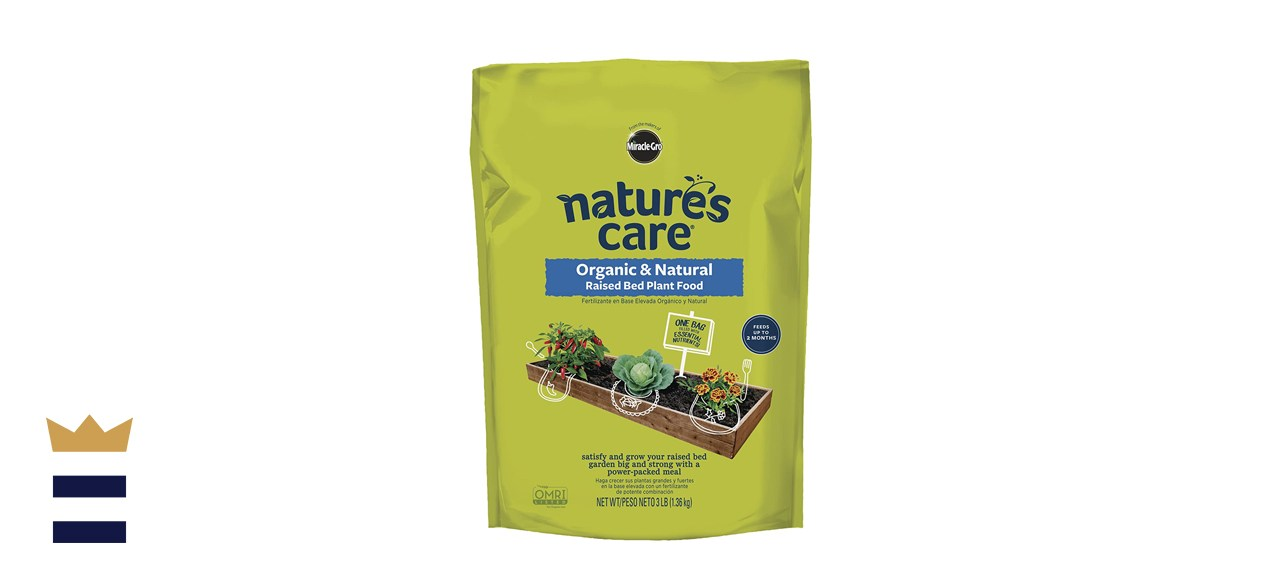 Miracle-Gro Nature's Care Organic & Natural Raised Bed Plant Food
