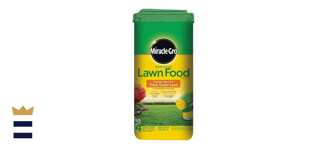 Miracle-Gro Water-Soluble Lawn Fertilizer