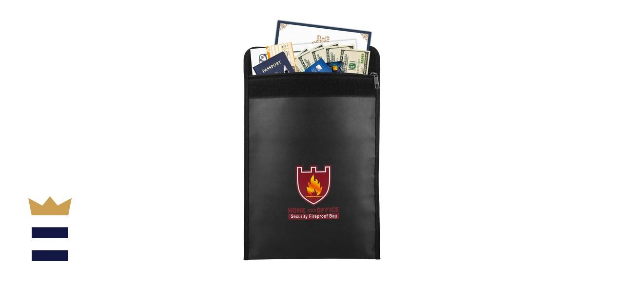 Moko Fireproof Money and Document Bag