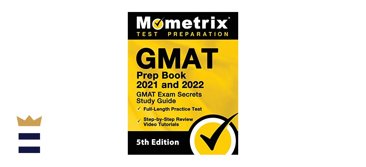 Image of the GMAT 2021-2022 prep book
