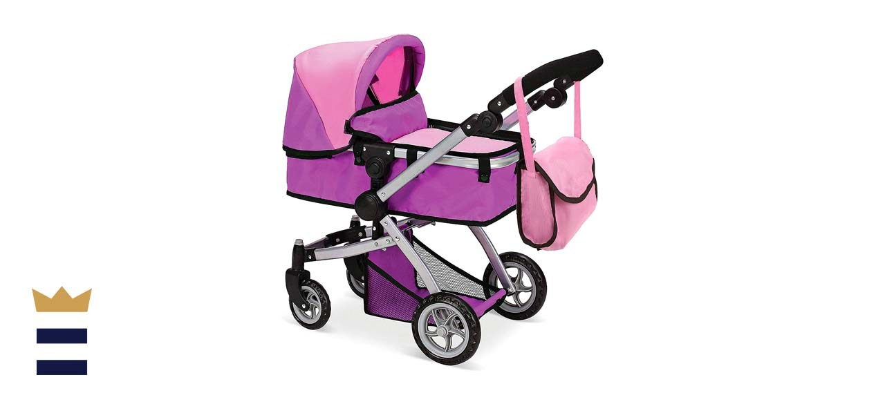 Mommy & Me Babyboo Deluxe Doll Stroller