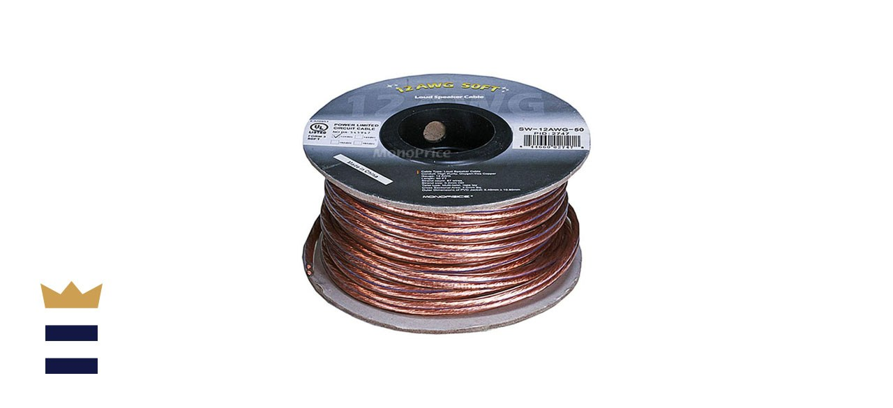 Monoprice 100-Foot Enhanced Oxygen-Free 16 AWG Copper Speaker Cable