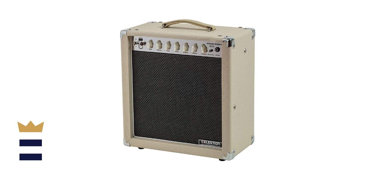 Monoprice 15-Watt Guitar Combo Tube Amp with Reverb and Celestion Speaker
