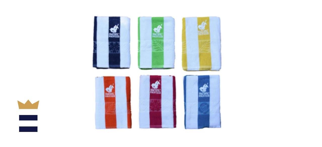Montsegur 6-Piece Cotton Beach Towel Set
