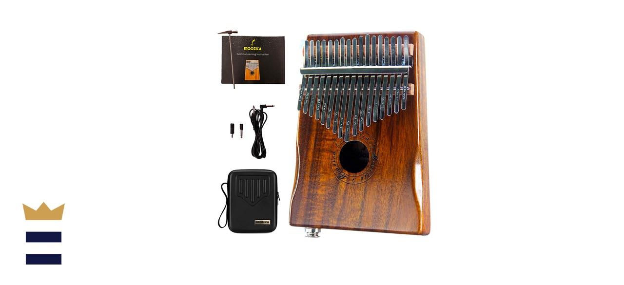 Moozica 17-Key Professional Electric Kalimba