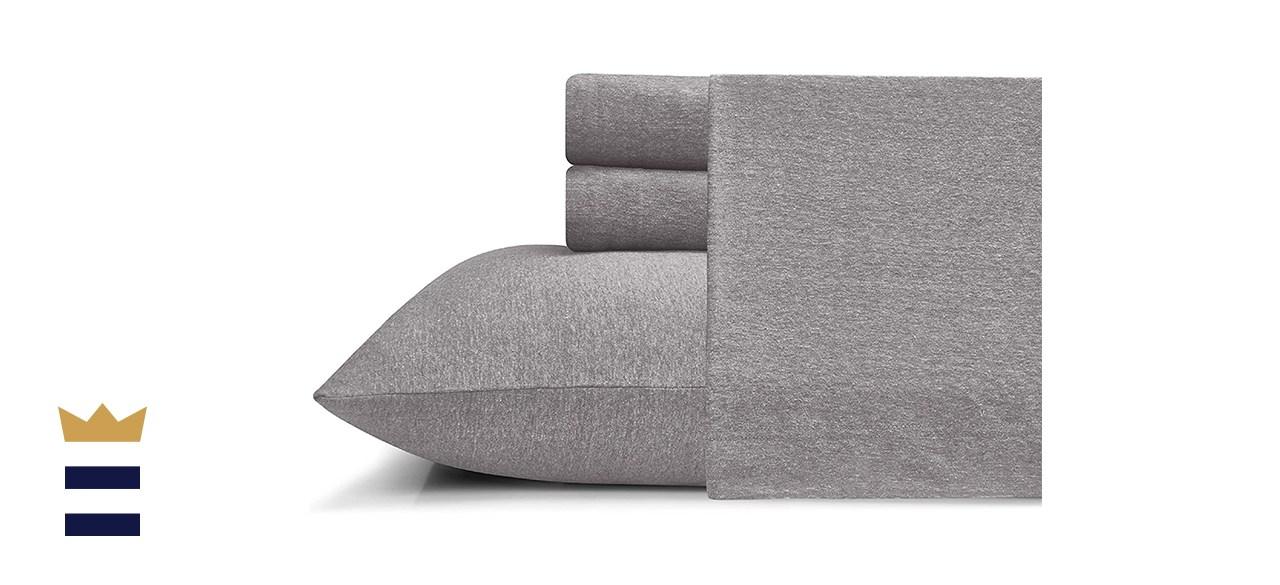 Morgan Home T-Shirt Soft Heather Jersey Sheet Set