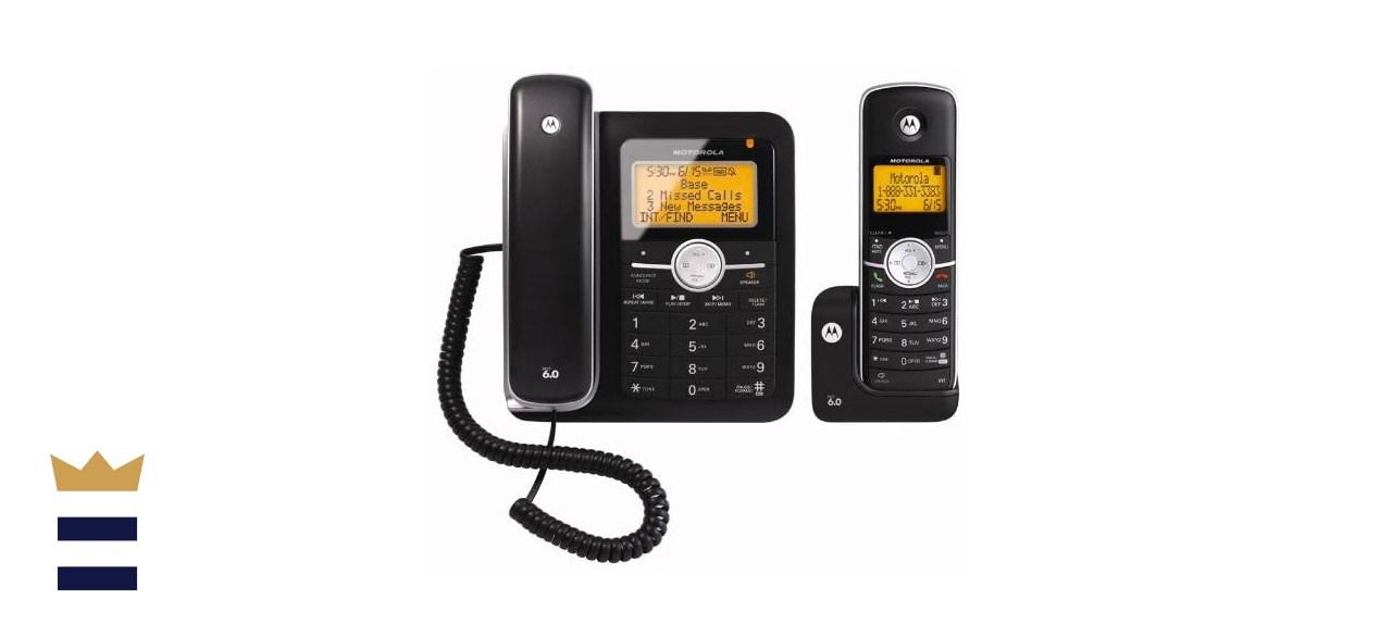 Motorola Corded Telephone with Answering Machine Machine