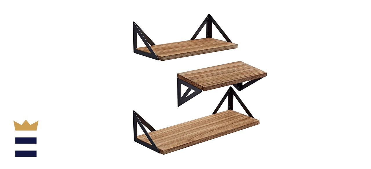 mounted shelves