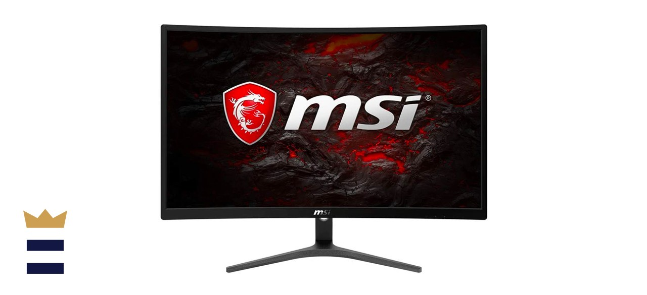 MSI Full HD FreeSync 24-Inch Curved Non-Glare Gaming Monitor
