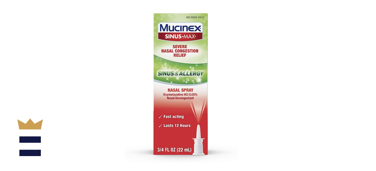 Mucinex Sinus-Max Severe Nasal Congestion Relief Sinus & Allergy Nasal Spray
