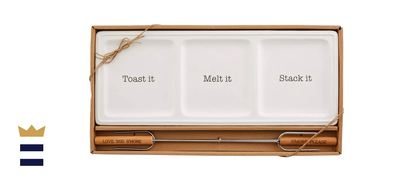 Mud Pie Store Boxed Smores Tray Set