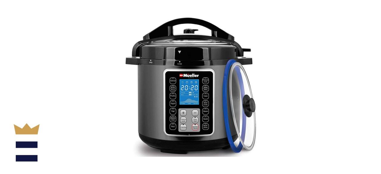 Mueller 6 Quart Pressure Cooker 10 in 1