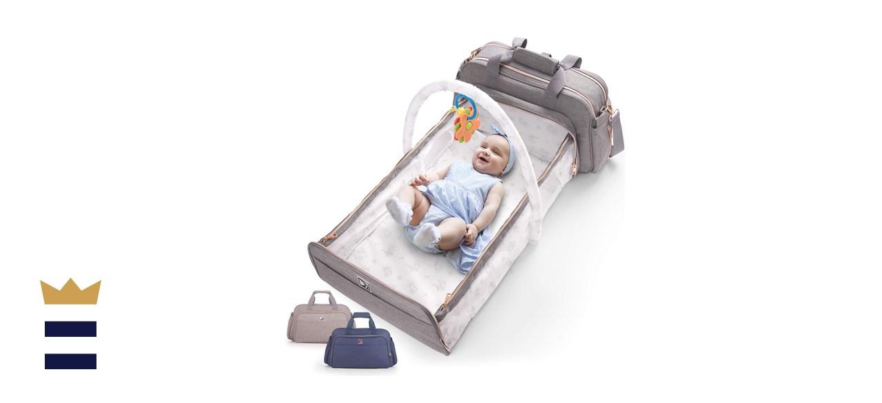 4-in-1 Convertible Baby Diaper Bag