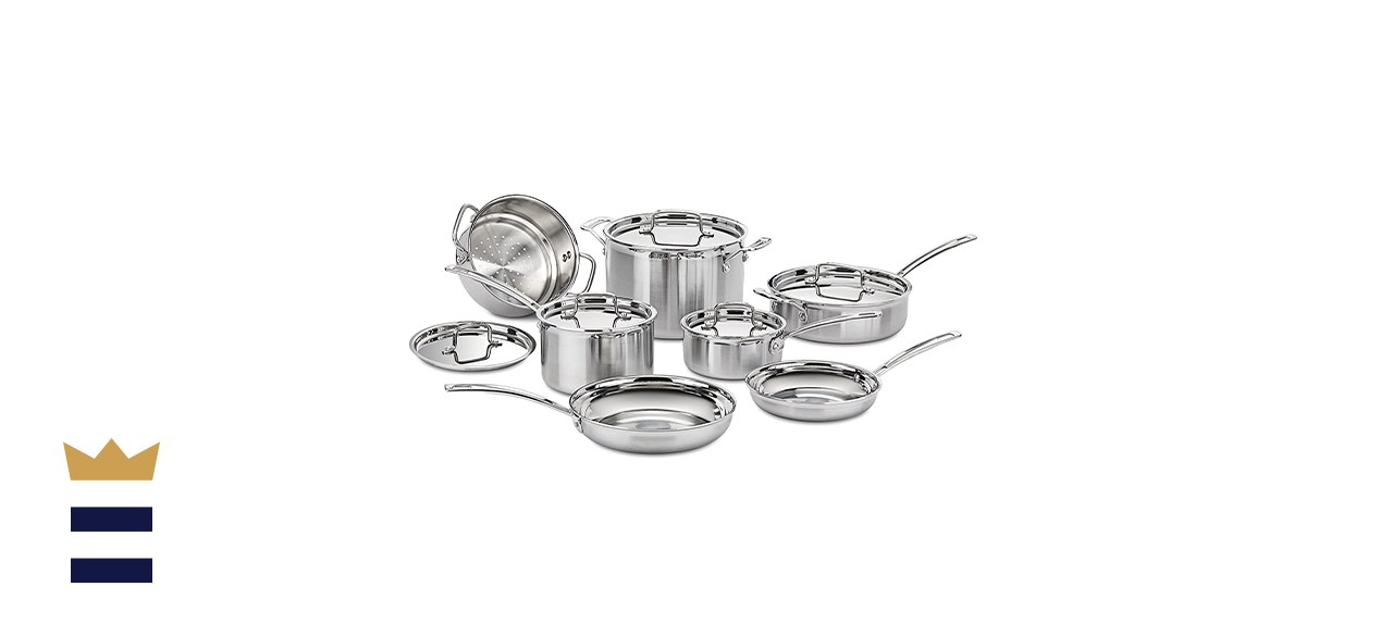 Multiclad Pro Stainless Steel 12-Piece Set