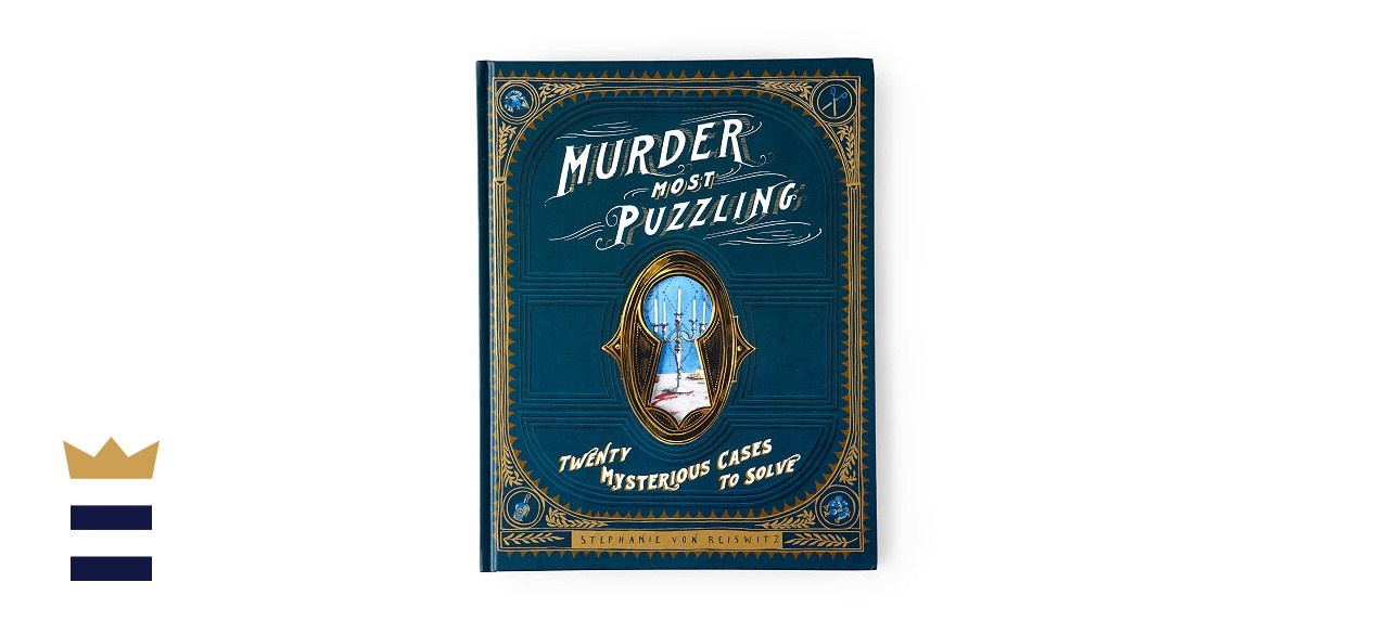 Murder Most Puzzling Mystery Puzzle Book