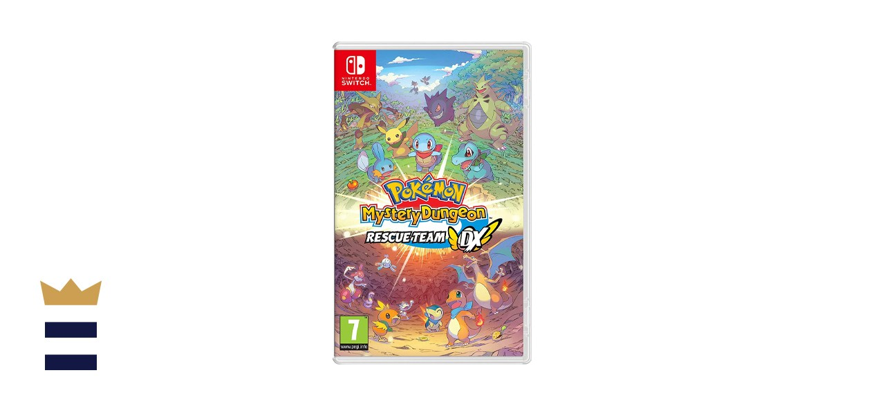 Pokémon Mystery Dungeon: Rescue Team DX for the Nintendo Switch