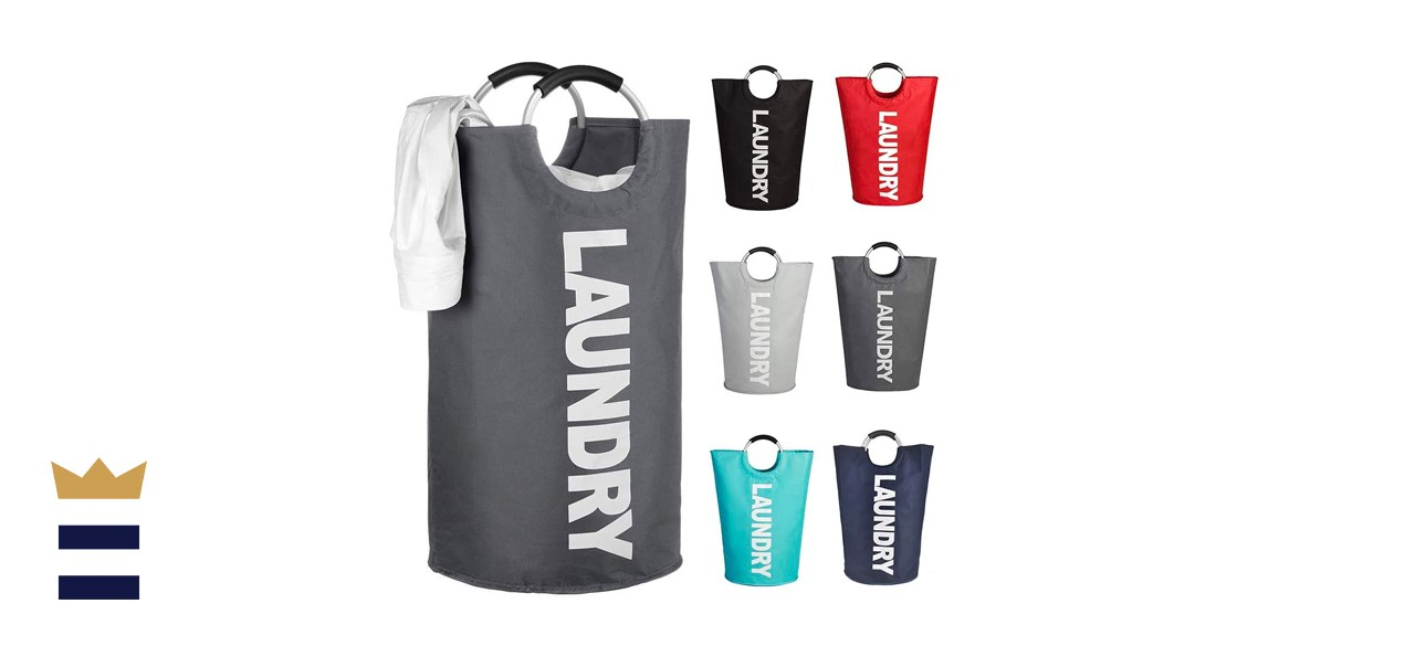 Mziart Laundry Hamper with Alloy Handles