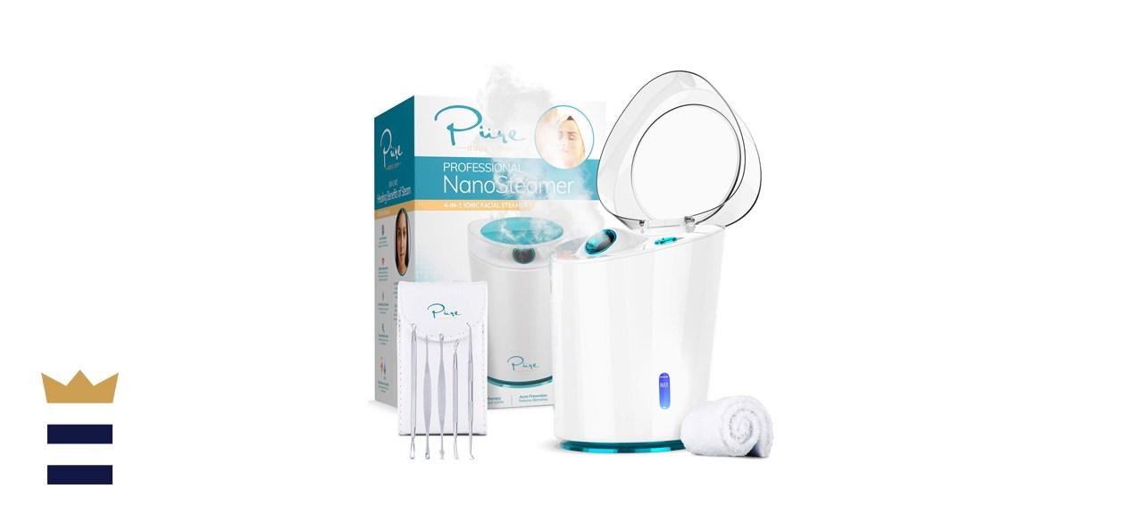 NanoSteamer PRO Professional 4-in-1 Nano Ionic Facial Steamer