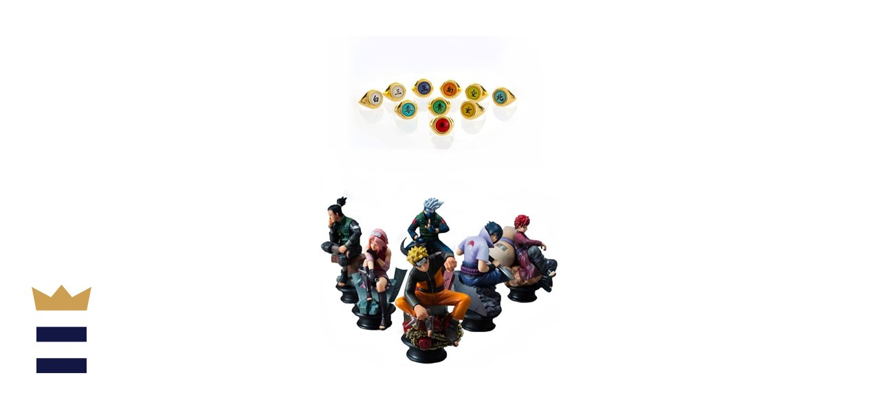 Naruto Six-Piece Figurine Set