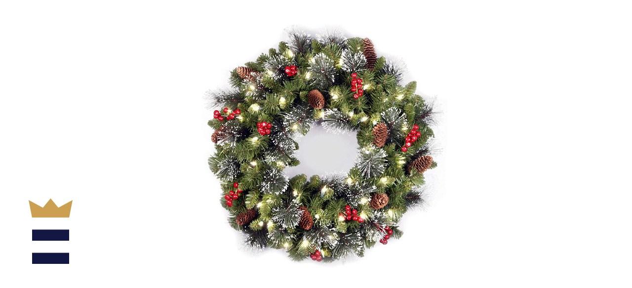 National Tree Company Lit Artificial Christmas Wreath