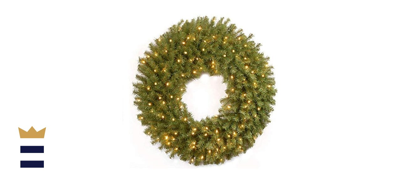 National Tree Company Norwood Fir Artificial Holiday Wreath