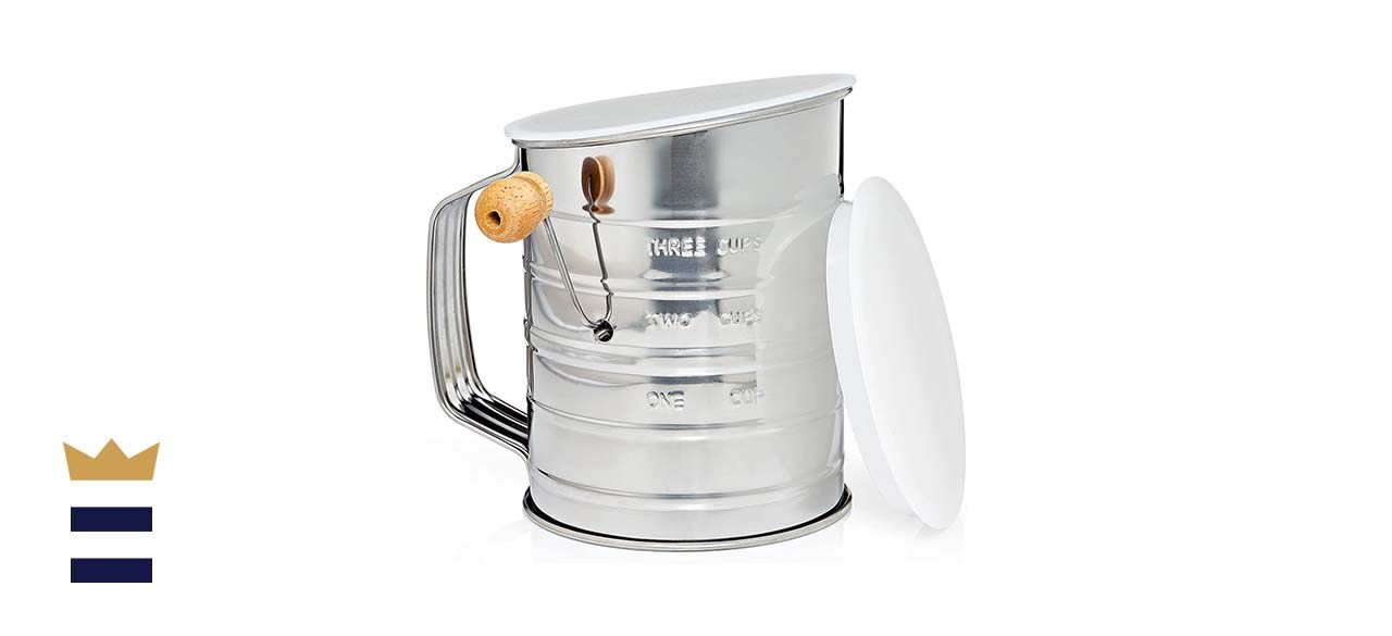 Natizo Stainless Steel 3 Cup Flour Sifter
