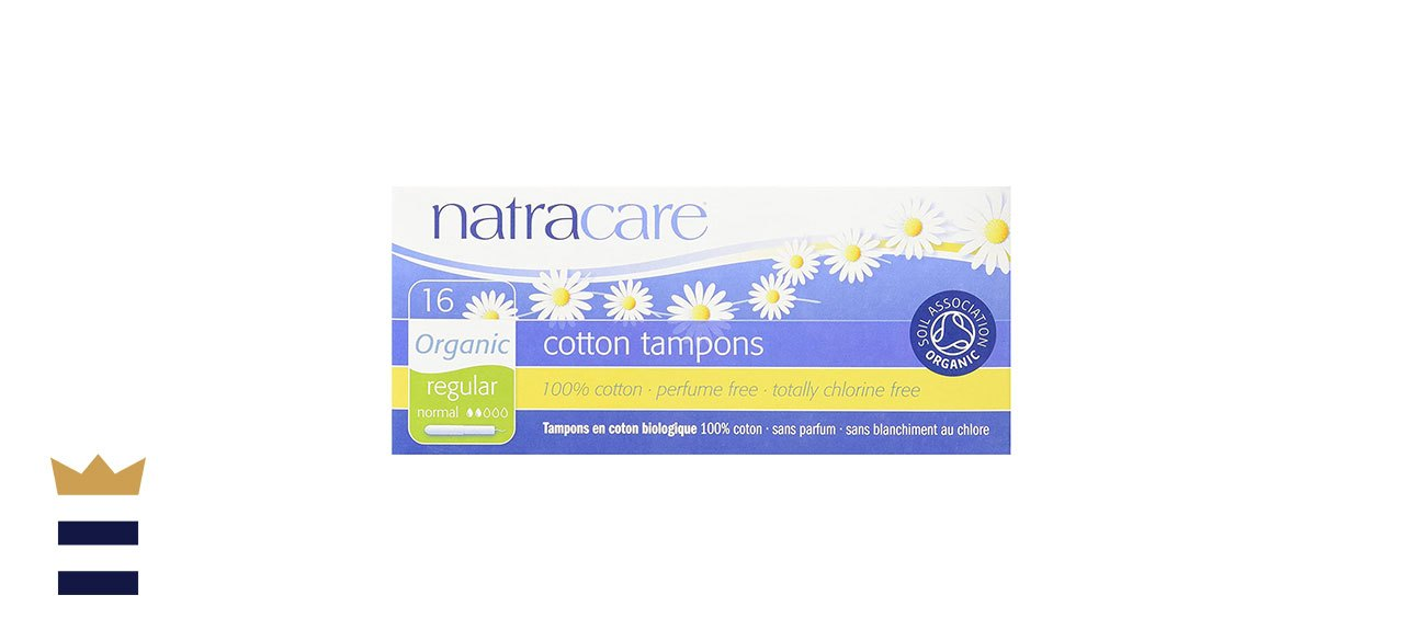 Natracare's Organic Natural Tampons with Applicator