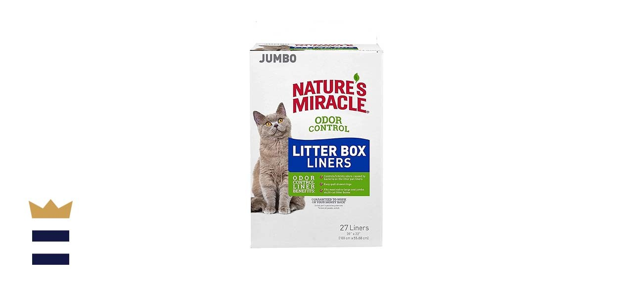Nature's Miracle Odor Control Litter Box Liners