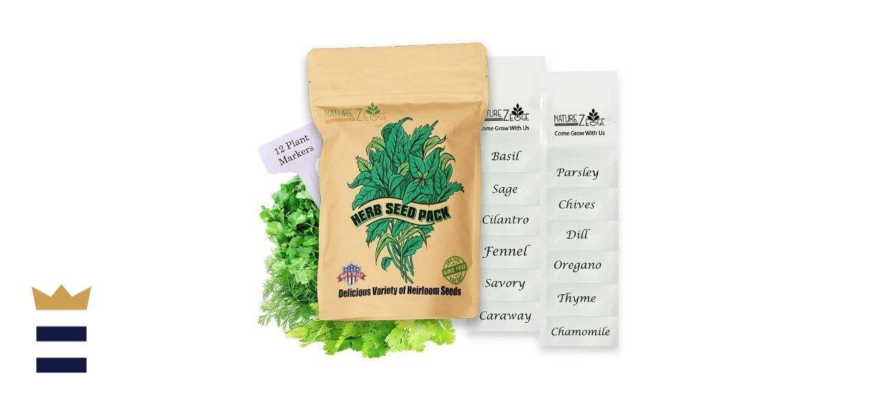 NatureZ Edge's Heirloom Herb Seeds Variety Pack