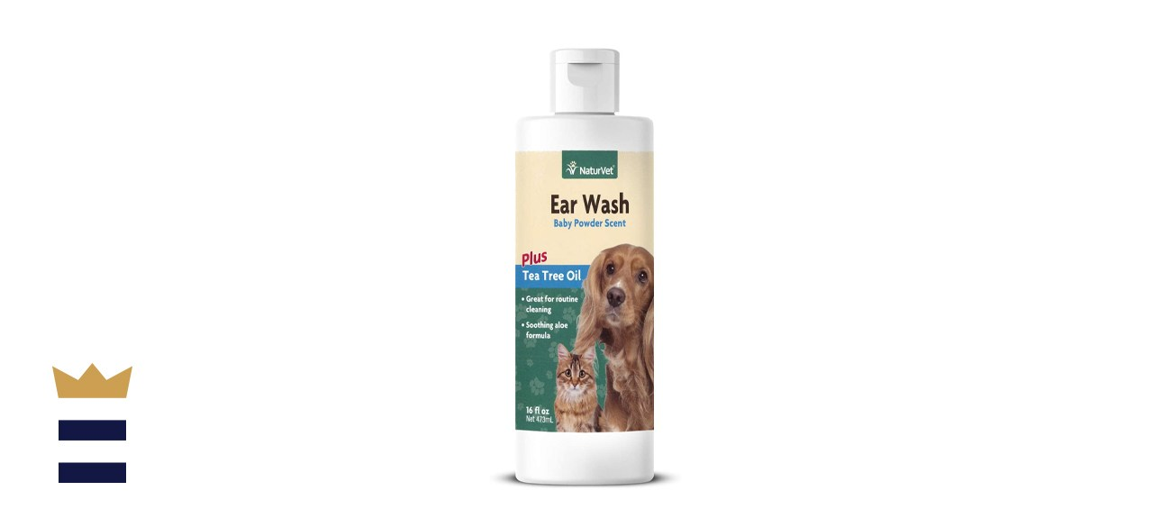 NaturVet Tea Tree Ear Wash