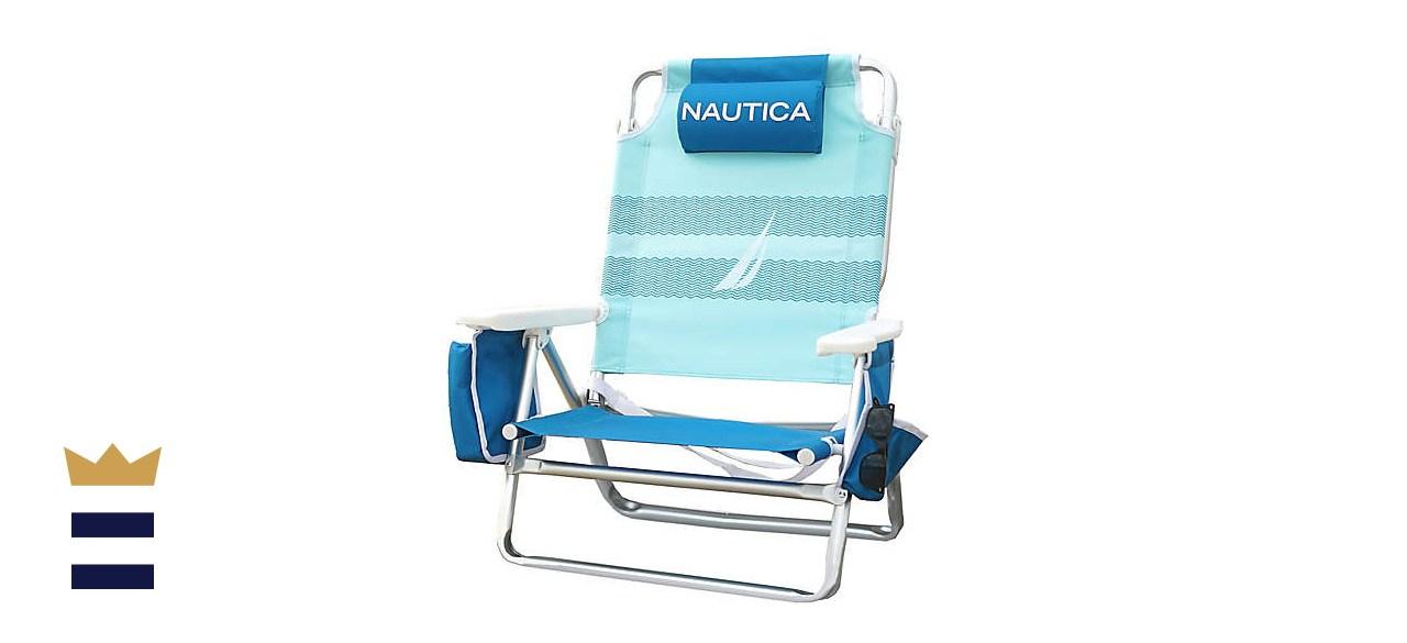 Nautica 5-Position Beach Chair