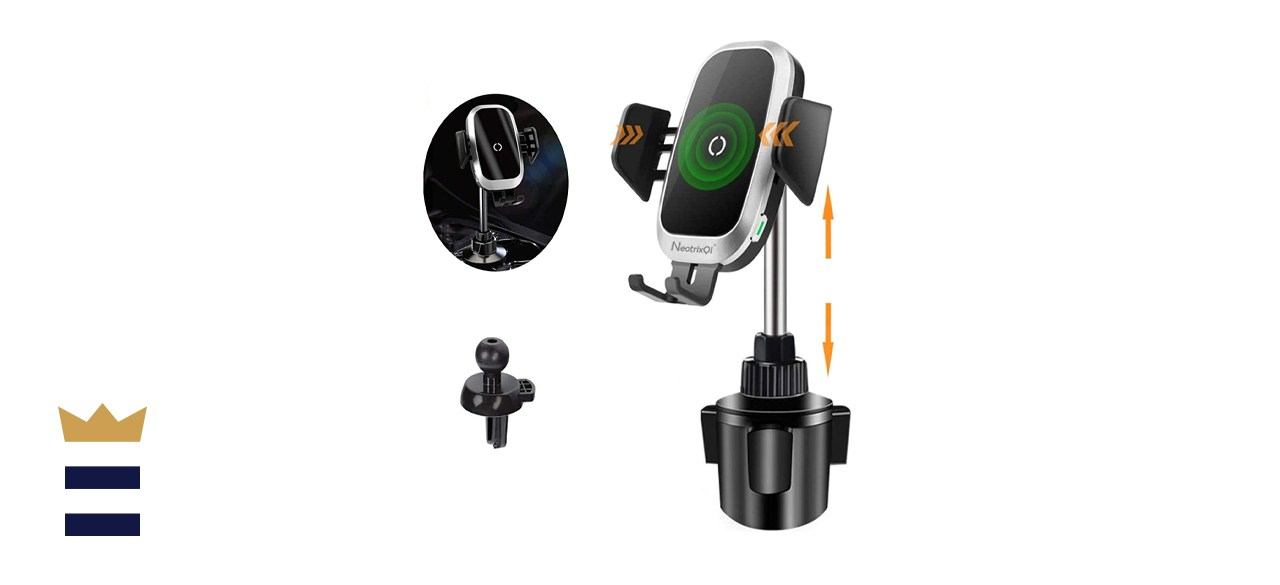 Neotrix QI Wireless Cup Holder Car Charger