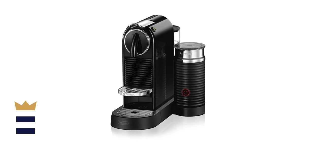 Nespresso Pixie Coffee and Espresso Machine by De'Longhi with Aeroccino