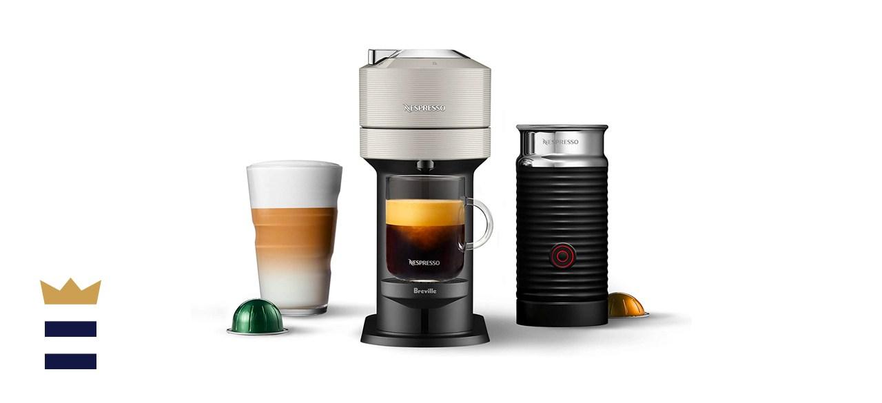 Nespresso Vertuo Next Coffee and Espresso Machine with Aeroccino