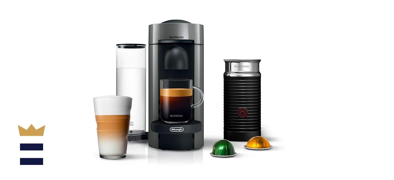 Nespresso Vertuo Plus and De'Longhi Espresso Maker